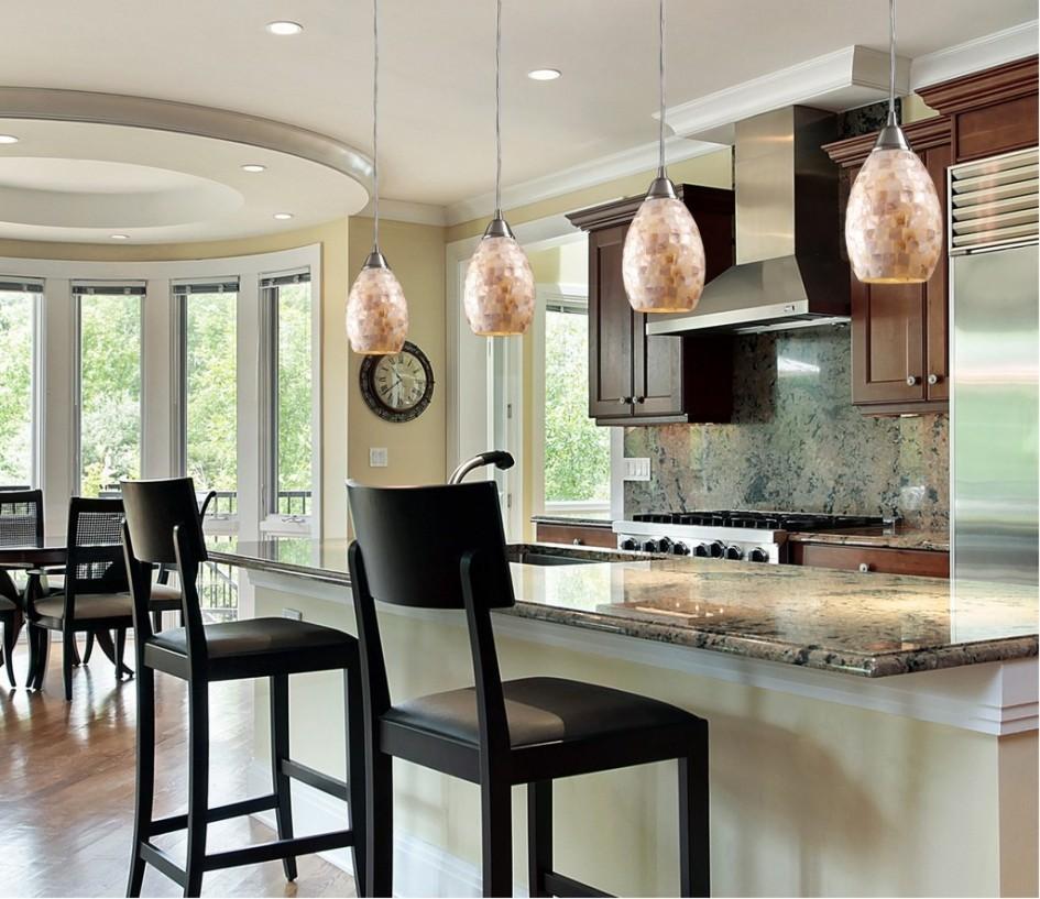 Selecting Kitchen Island Lighting & Shades