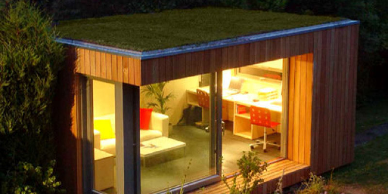 A Compact Shed Makes Room for Creativity, Storage and Style